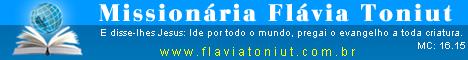 Missionária Flávia Toniut